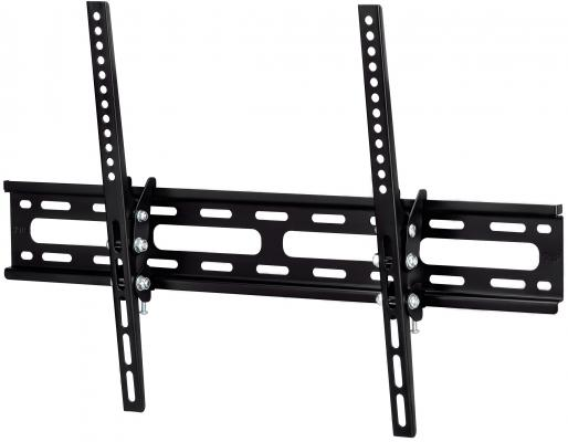 Кронштейн HAMA H-108717 XL черный для ЖК ТВ до 56 настенный наклон 15° VESA 600x400 max 35 кг кронштейн для мониторов жк hama h 95831 черный 26