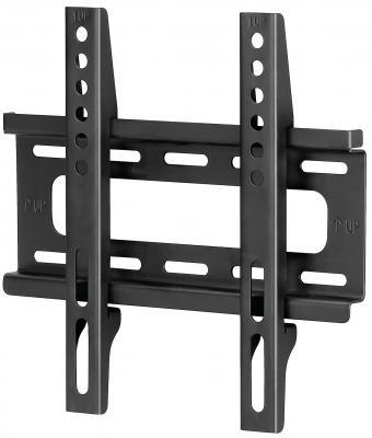 Кронштейн HAMA H-108714 L черный для ЖК ТВ до 46 настенный VESA 200x200 max 25 кг кронштейн для тв hama h 118104 black