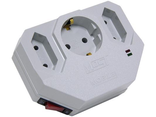 Сетевой фильтр MOST Mobile MHV белый 3 розетки