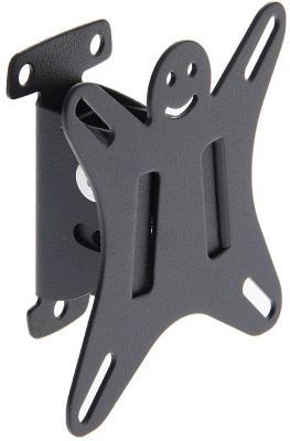 Кронштейн Holder LCDS-5002 металлик для ЖК ТВ 10-26 настенный от стены 50мм наклон 15° VESA 100x100 до 25 кг кронштейн holder lcds 5002 металлик для жк тв 10 26 настенный от стены 50мм наклон 15° vesa 100x100 до 25 кг
