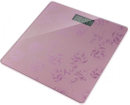 Весы напольные Rolsen RSL1804 Flower розовый