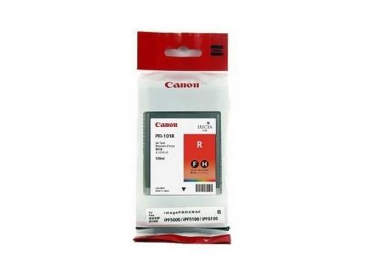 Струйный картридж Canon PFI-101 R красный для iPF5100 canon pt 101