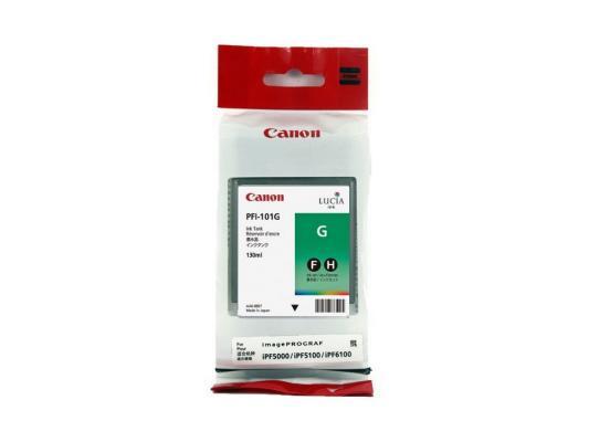 Струйный картридж Canon PFI-101 G зеленый для iPF5100