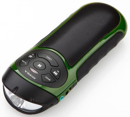Магнитола Supra PAS-6277 зеленый