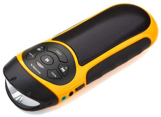 Портативная аудиосистема Supra PAS-6277 желто-черный