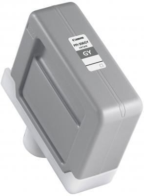 Струйный картридж Canon PFI-306 GY серый для iPF8300S/8400/9400S/9400 картридж canon pfi 706 gy для плоттера ipf8400s 8400 9400se 9400 серый 700 мл