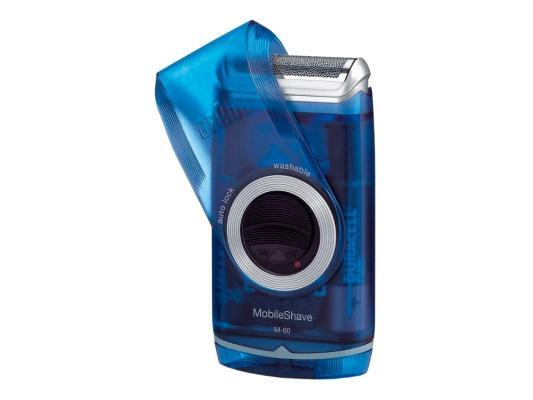 Бритва Braun MobileShave M60r красный бритва braun mobileshave m60r серебристый синий