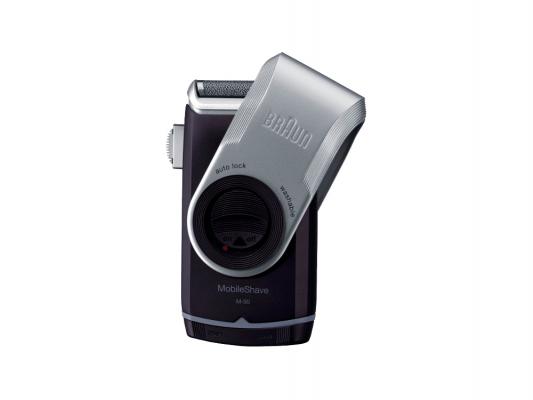 Бритва Braun MobileShave M90 бритва braun mobileshave m60r серебристый синий