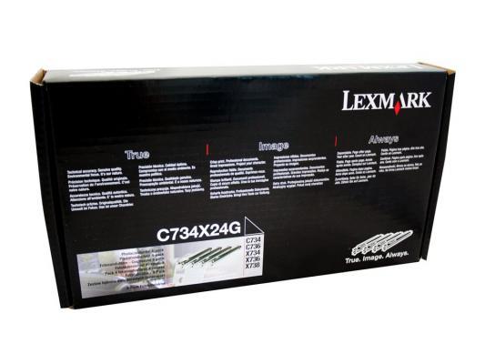 Фотобарабан Lexmark C734X24G цветной для C73x/X73x
