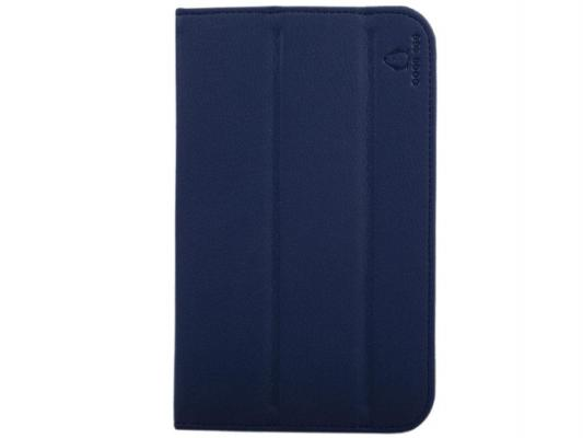 "Чехол GoodEgg Flex для Samsung GalaxyTab3 7"" T2100/2110 кожа синий GE-GT2100FLEXBLU"