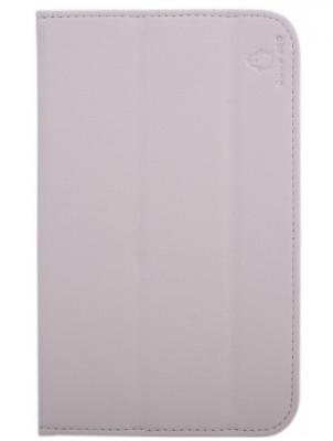 "Чехол GoodEgg Flex для Samsung GalaxyTab3 7"" T2100/2110 кожа белый GE-GT2100FLEXWHT"