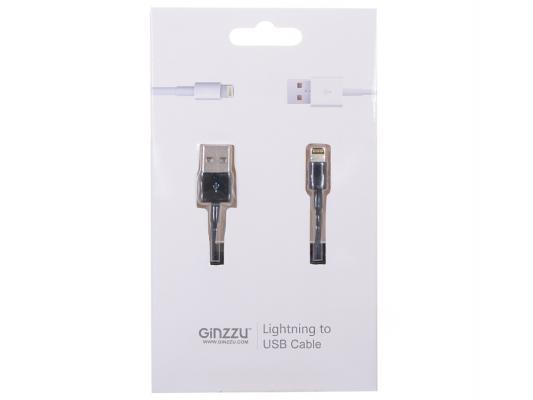 Кабель для Iphone 5/5S GINZZU GC-501B черный/ подходит для iOS 7