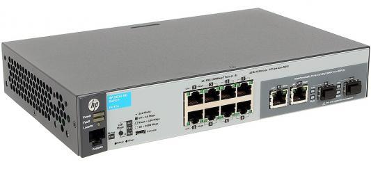 Коммутатор HP 2530-8G (J9777A) 8-портов 10/100/1000T/SFP коммутатор hp aruba 2530 8 j9783a