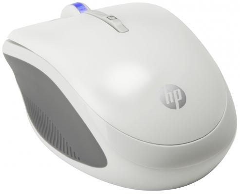 Мышь беспроводная HP X3300 белый USB H4N94AA цены
