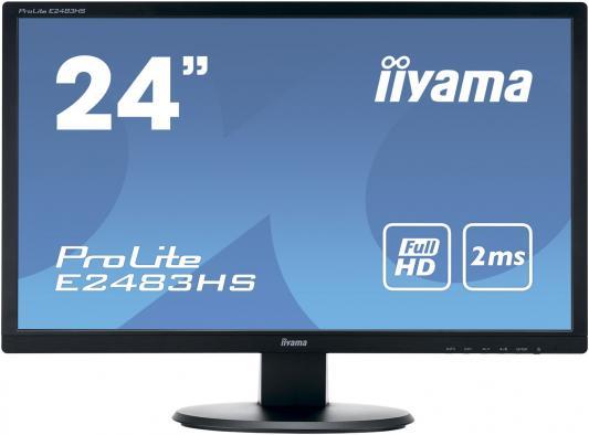 Монитор 24 iiYama Pro Lite E2483HS-B1 монитор 24 iiyama pro lite xb2483hsu b2
