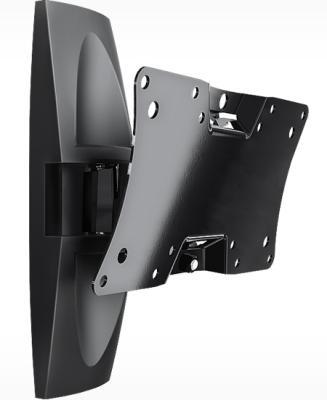 Кронштейн Holder LCDS-5062 черный для ЖК ТВ 19-32 настенный от стены 105мм наклон +15°/-25° поворот 50° до 30кг