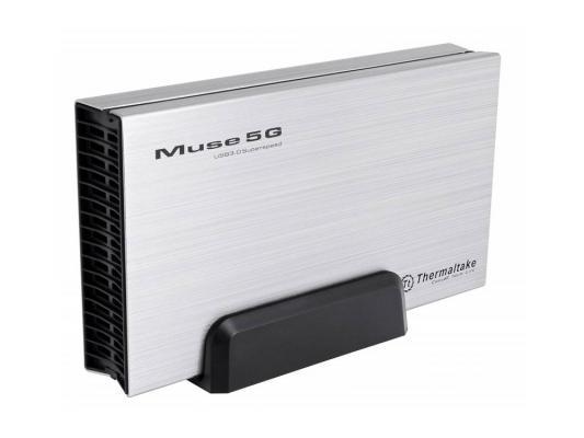 Внешний корпус для HDD Thermaltake ST0042Е Muse 5G 3.5 USB3.0 Silver