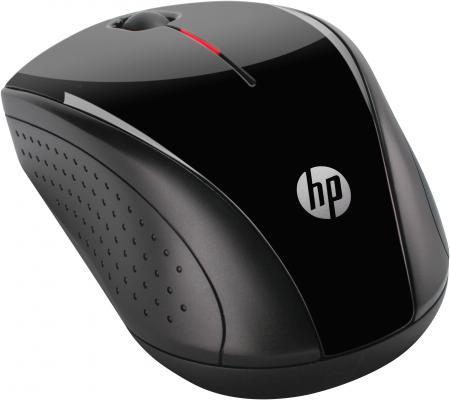 лучшая цена Мышь беспроводная HP X3000 чёрный USB