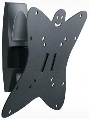 "Кронштейн Holder LCDS-5036 серый для ЖК ТВ 19-37"" настенный от стены 91мм наклон +6°/-15° поворот 135° до 30кг"