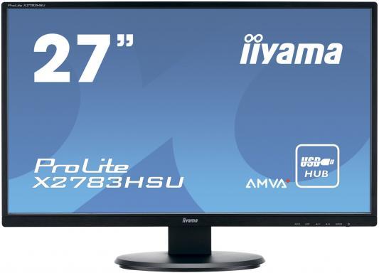 Монитор 27 iiYama Pro Lite X2783HSU-B1 монитор 24 iiyama pro lite xb2483hsu b2