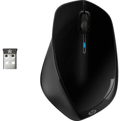 Мышь беспроводная HP X4500 чёрный USB H2W26AA мышь hp x1200 wired black h6e99aa