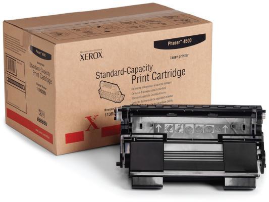 Тонер-картридж Xerox 113R00656 для Phaser 4500 черный 10000стр картридж xerox 113r00692 phaser 6120 тонер картридж черный бол емкости