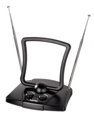 лучшая цена Антенна HAMA H-44269 черный