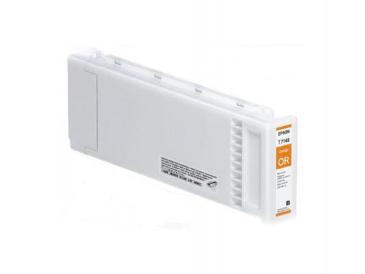 Картридж Epson C13T714800 T714800 для Epson SC-S70610 UltraChrome GSX оранжевый картридж для принтера epson ultrachrome gsx 700ml yellow