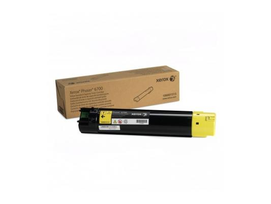 Тонер-Картридж Xerox 106R01513 для Phaser 6700 желтый 5000стр копи картридж xerox желтый 50k phaser 6700
