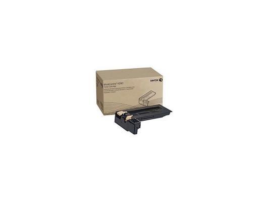 все цены на Тонер-картридж Xerox 106R01410 для WCP 4250/4260 черный 25000стр онлайн