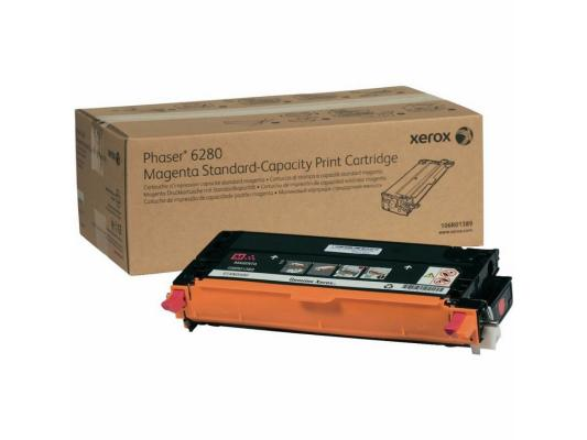 Тонер-Картридж Xerox 106R01389 для Phaser 6280 пурпурный 2200стр картридж xerox 108r00909 для phaser 3140 2500стр