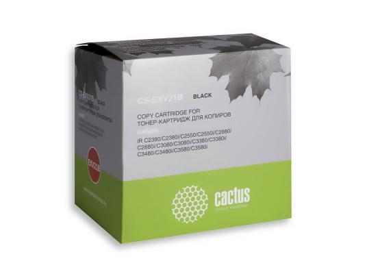 Тонер-картридж Cactus CS-EXV21B черный для Canon IR-C2380/C2550/C2880/C3080 26000стр. цены