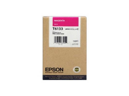 Картридж Epson C13T613300 для Epson Stylus Pro 4450 пурпурный картридж c13t613300 epson для stylus pro 4450 110 мл пурпурный c13t613300