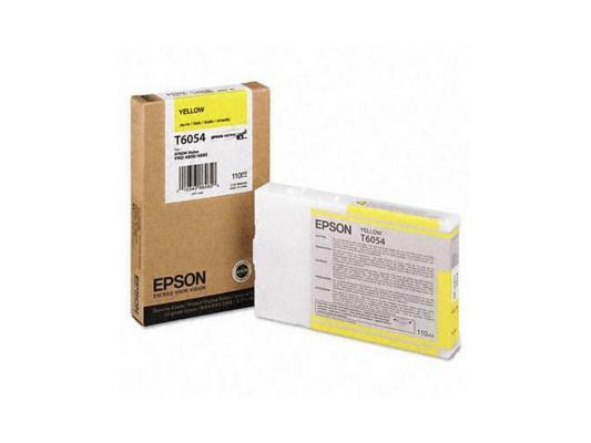 Картридж Epson C13T605400 для Epson Stylus Pro 4880 желтый
