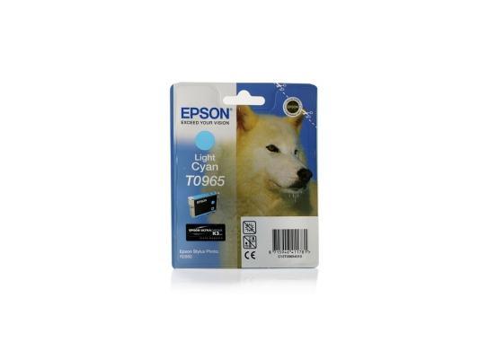Картридж Epson Е0965 С13T09654010 светло-голубой К2880 картридж epson original t08254a для r270 390 rx590 светло голубой c13t11254a10