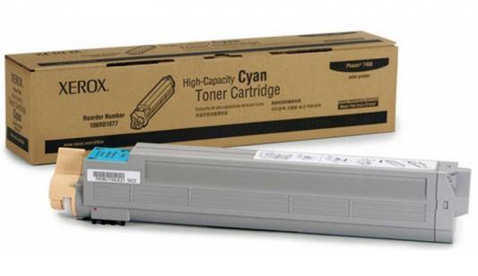 Тонер-Картридж Xerox 106R01077 для Phaser 7400 голубой 18000стр картридж xerox 113r00692 phaser 6120 тонер картридж черный бол емкости