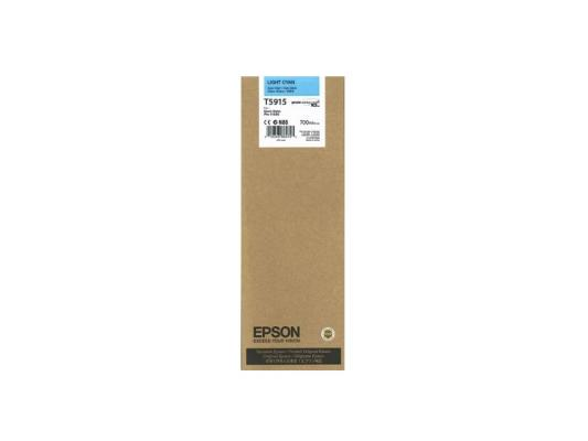 Картридж Epson C13T591500 T5915 для Epson Stylus Pro 11880 голубой epson t7014 xl c13t70144010 yellow картридж для workforce pro wp 4000 5000 series