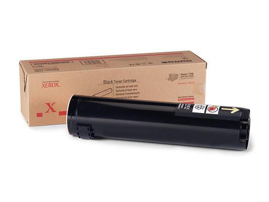 Тонер-Картридж Xerox 106R00652 для Phaser 7750 черный 32000стр картридж xerox 108r00909 для phaser 3140 2500стр