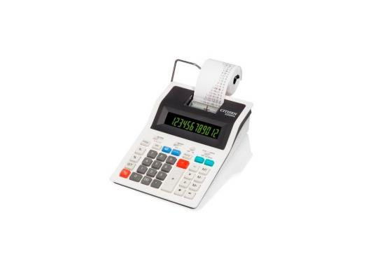 Калькулятор Citizen 520DPA питание от сети 12 разрядов печатающий термопечать 10стр/с белый