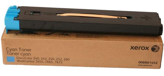 Тонер-Картридж Xerox 006R01452 для DC 240/250/242/252 WC7655/7665 голубой 34000стр 2 pcs free shipping new original lubricant wax for xerox workcentre 7655 7665 7675 docucolor 240 242 c75 700 digital copier