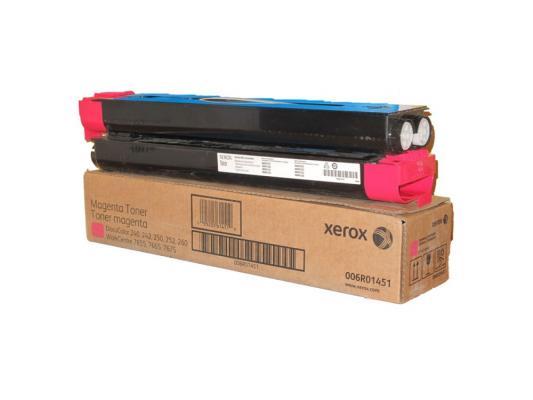 Тонер-Картридж Xerox 006R01451 для DC 240/250/242/252 WC7655/7665 пурпурный 34000стр тонер картридж xerox 006r01451 для dc 240 250 242 252 wc7655 7665 пурпурный 34000стр