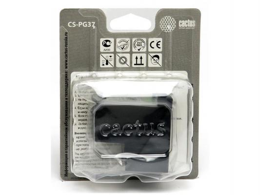 Струйный картридж Cactus CS-PG37 черный для Canon Pixma iP1800/iP2500/iP2600/MP210/220/MX300/310 220стр.