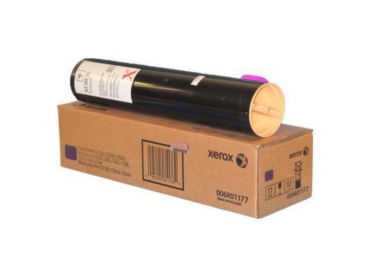 Тонер-Картридж Xerox 006R01177 для WC7228/7235/7245/7328/7335/7345/C2128/2636/3545 пурпурный 16000стр картридж xerox 006r01177 для xerox wc 7228 7235 7245 7328 7335 7345 c2128 2636 3545 пурпурный