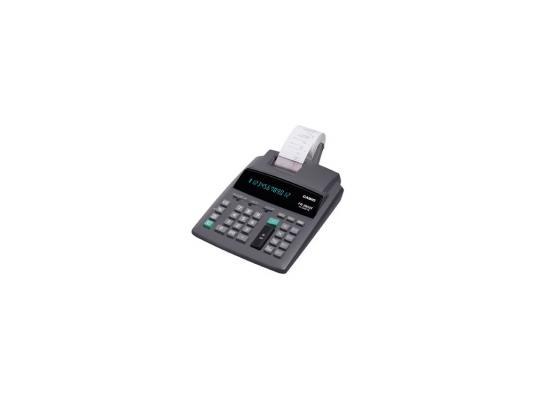 Калькулятор Casio FR-2650TGYB питание от сети 12 разрядов  печатающий двуцветная печать 2.4 стр/с серый