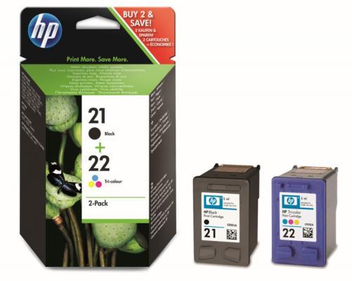 Струйный картридж HP SD367AE 21+22 черный/цветной для DJ 3900/D1400/D1500