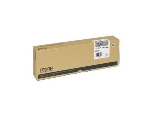 Картридж Epson C13T591700 для Epson Stylus Pro 11880 серый принтер струйный epson l312
