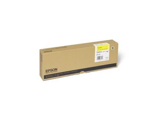 Картридж Epson C13T591400 для Epson Stylus Pro 11880 желтый epson t7014 xl c13t70144010 yellow картридж для workforce pro wp 4000 5000 series