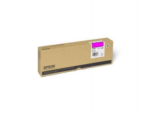 Картридж Epson C13T591300 для Epson Stylus Pro 11880 пурпурный принтер струйный epson l312