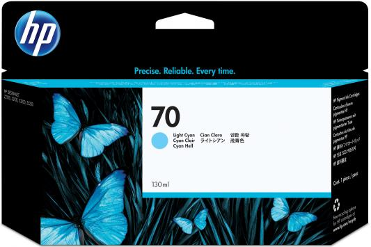 Струйный картридж HP C9390A №70 светло-голубой для DJ Z2100/Z3100 струйный картридж hp c9390a 70 светло голубой для dj z2100 z3100