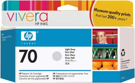Струйный картридж HP C9451A №70 светло-серый для HP DJ Z2100/Z3100 картридж hp c9449a 70 для hp dj z2100 z3100 черный
